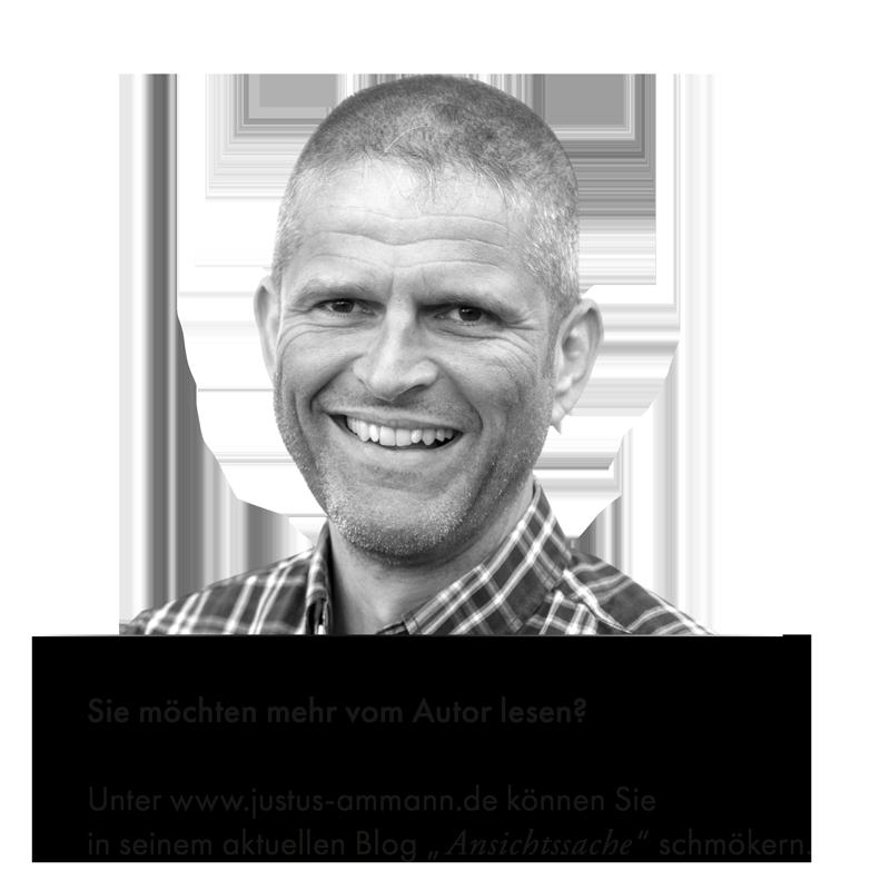 Justus Ammann - Autor // Ansichtssache - Externer Link